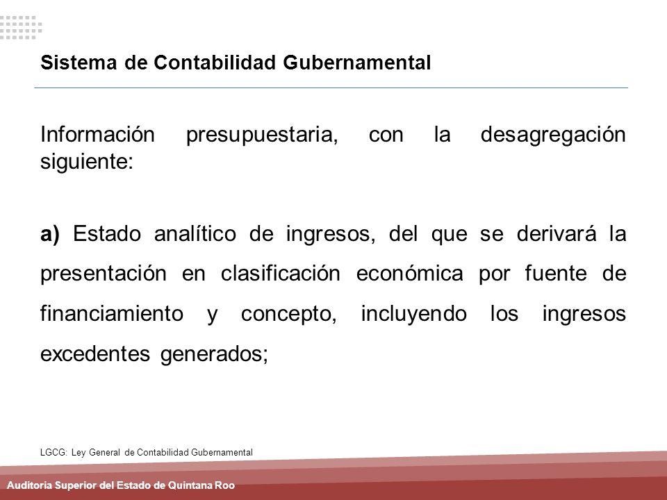 Sistema de Contabilidad Gubernamental
