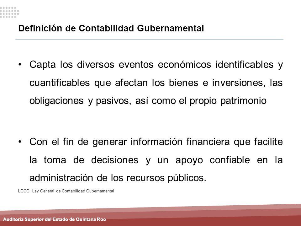 Definición de Contabilidad Gubernamental