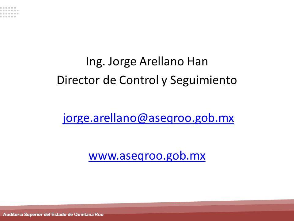 Director de Control y Seguimiento