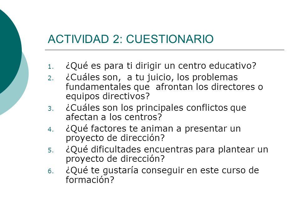 ACTIVIDAD 2: CUESTIONARIO