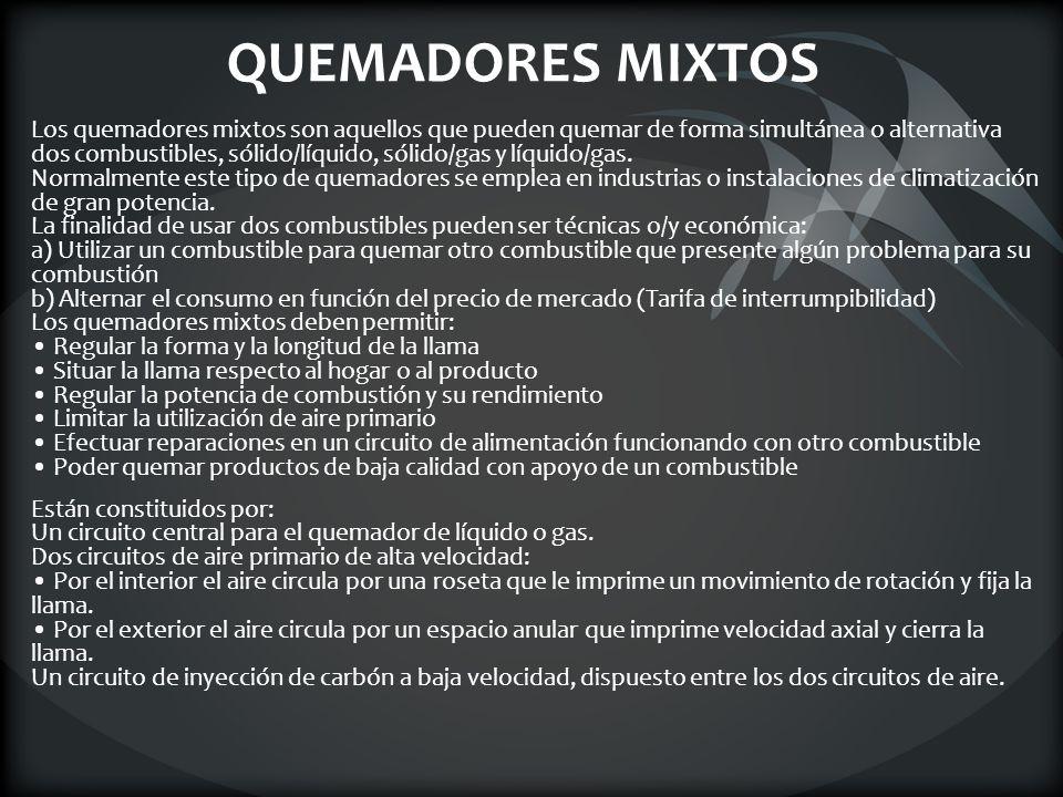 QUEMADORES MIXTOS