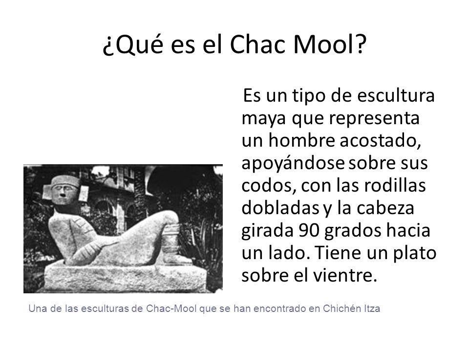 ¿Qué es el Chac Mool