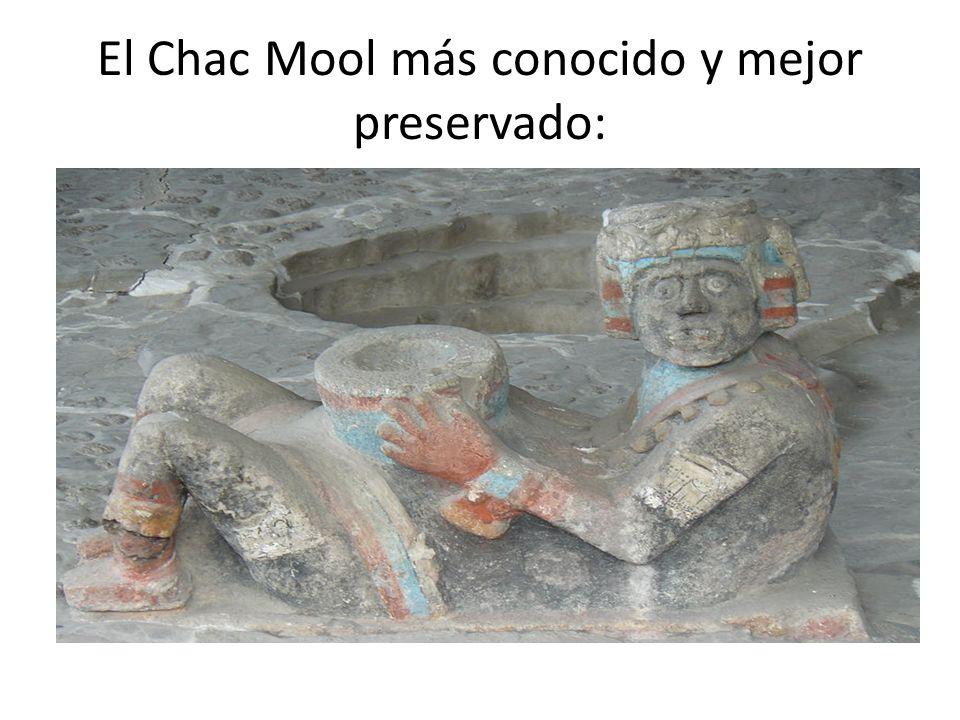 El Chac Mool más conocido y mejor preservado:
