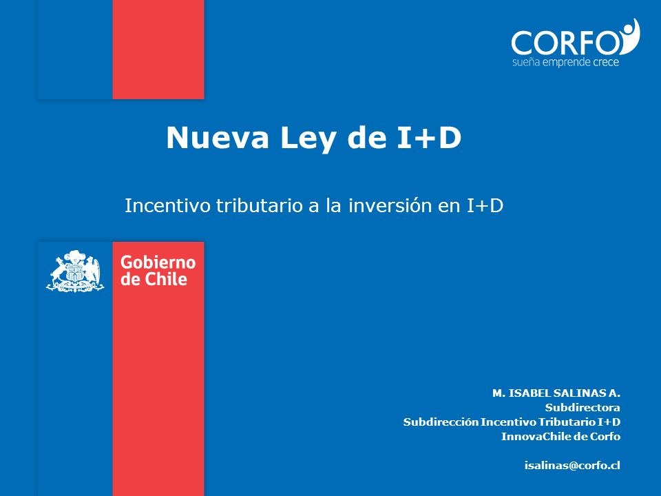 Incentivo tributario a la inversión en I+D