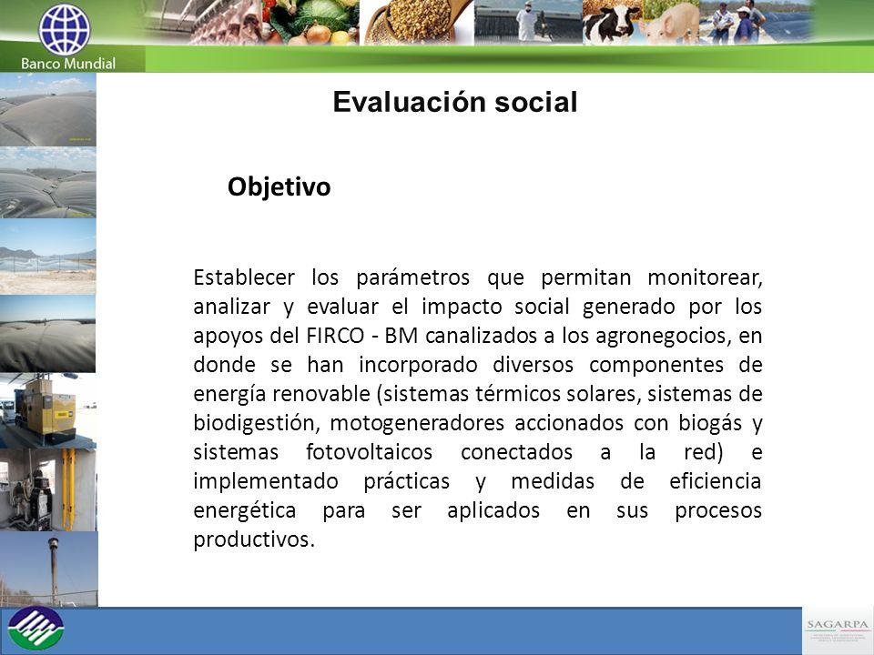 Evaluación social Objetivo