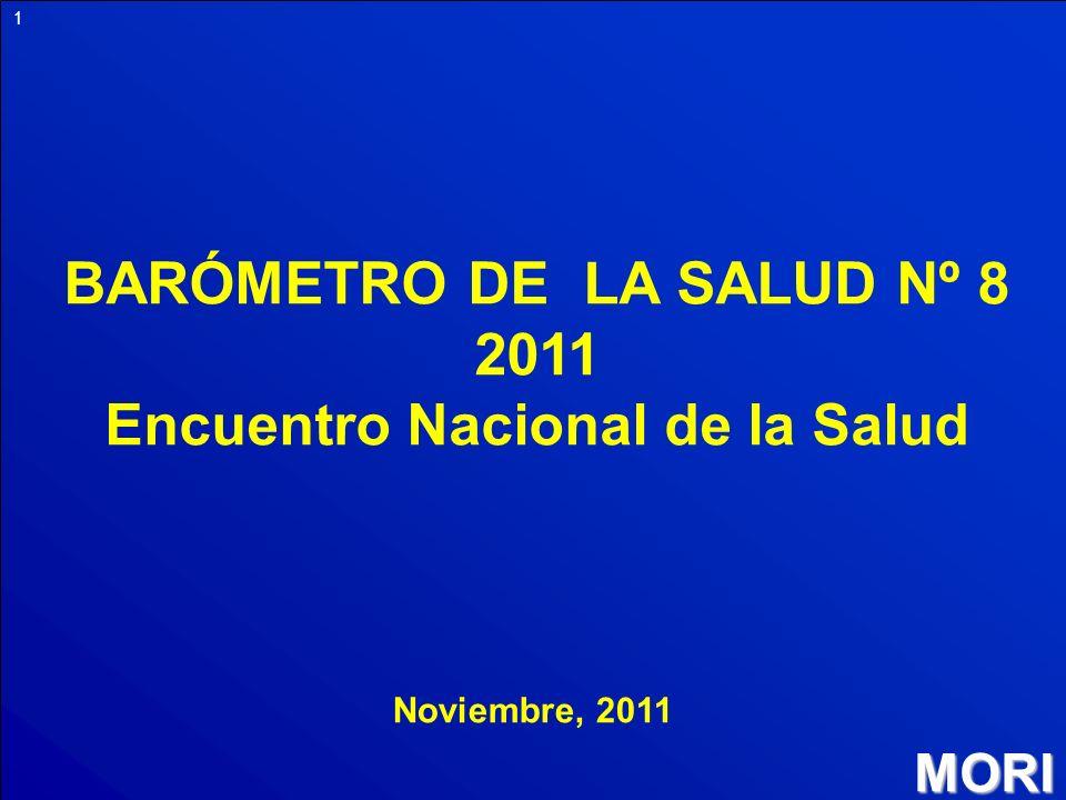 BARÓMETRO DE LA SALUD Nº 8 2011 Encuentro Nacional de la Salud