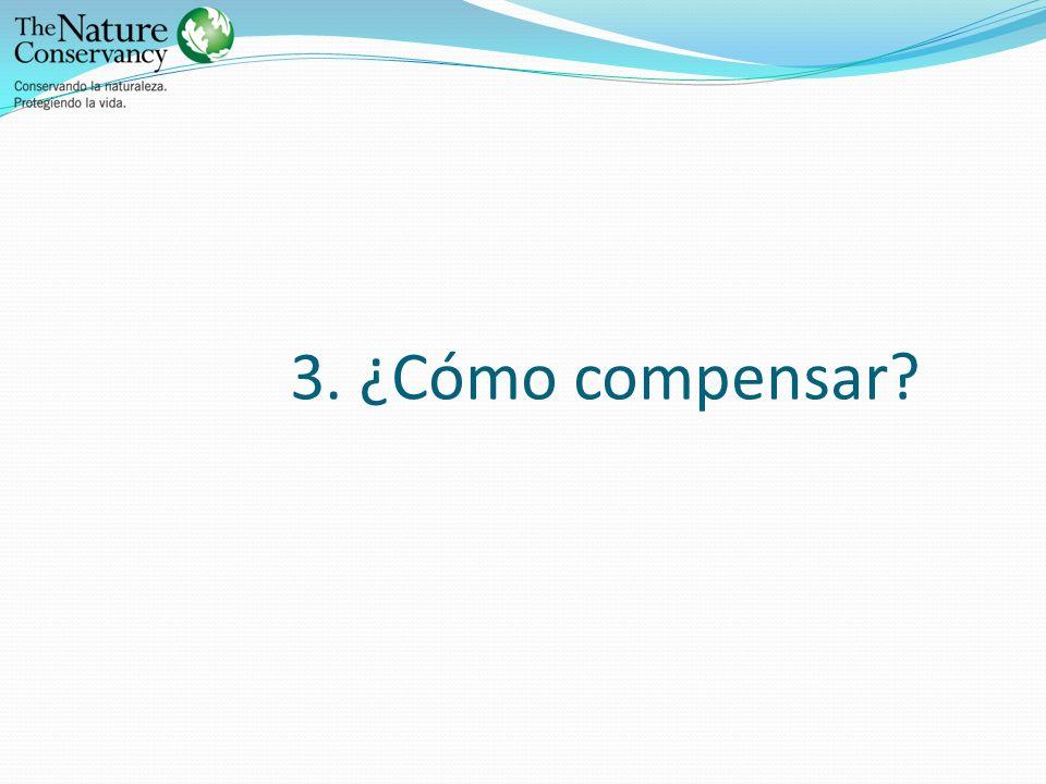 3. ¿Cómo compensar