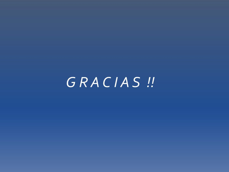 G R A C I A S !!