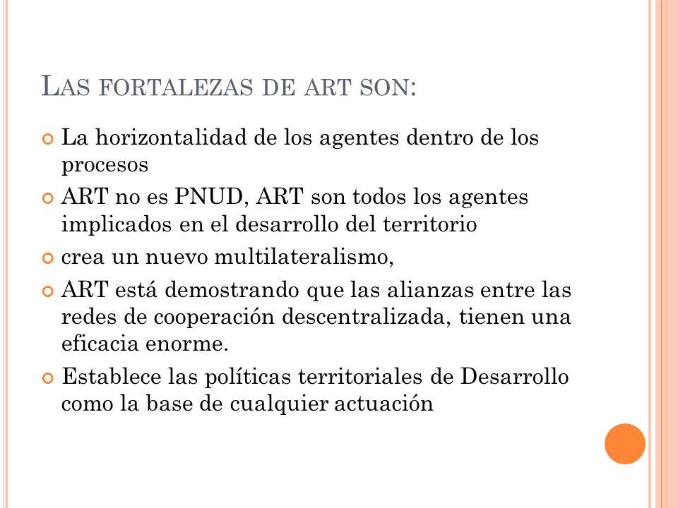 Las fortalezas de art son: