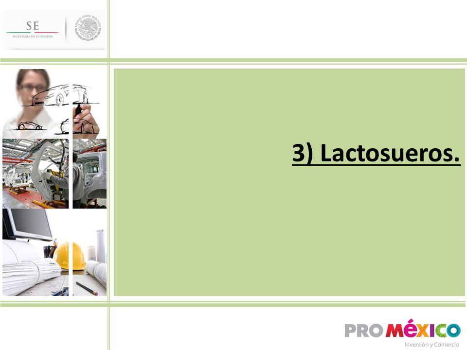 3) Lactosueros.