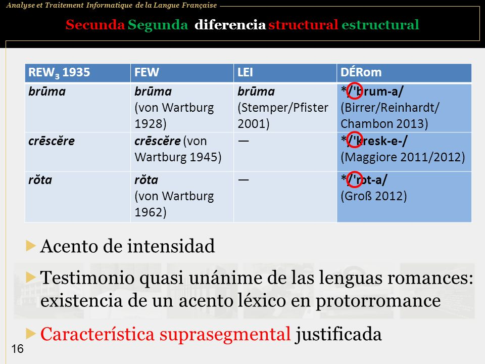 Secunda Segunda diferencia structural estructural