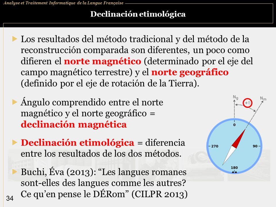 Declinación etimológica