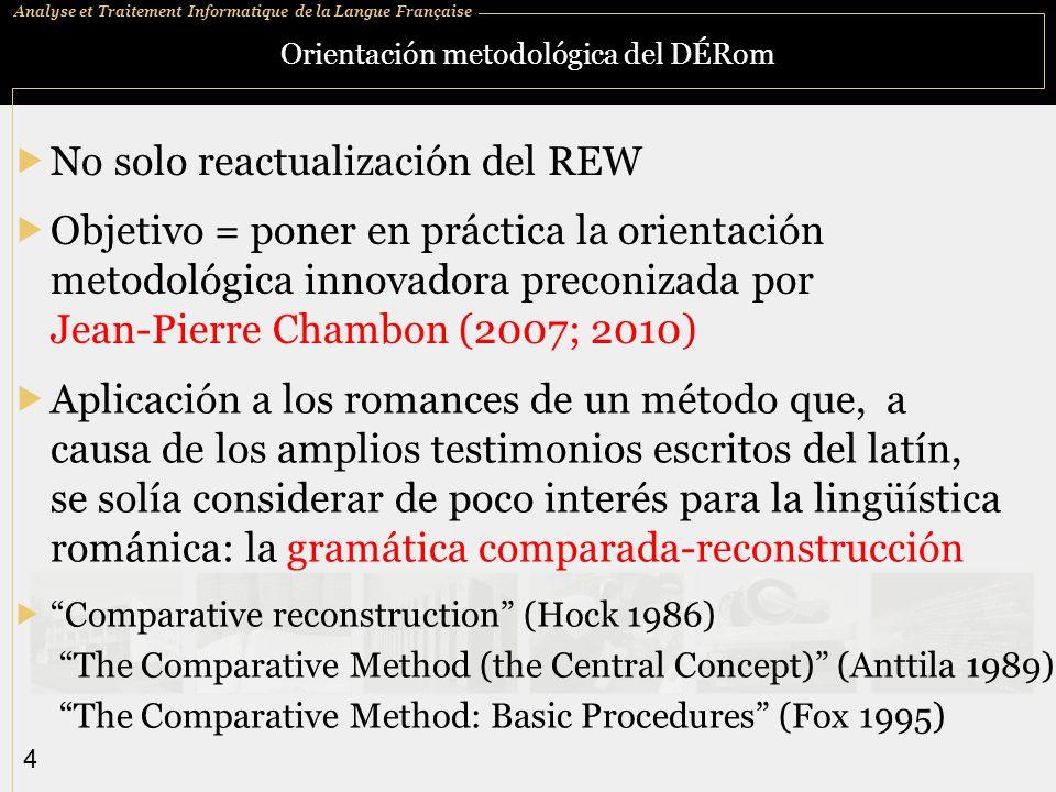 Orientación metodológica del DÉRom