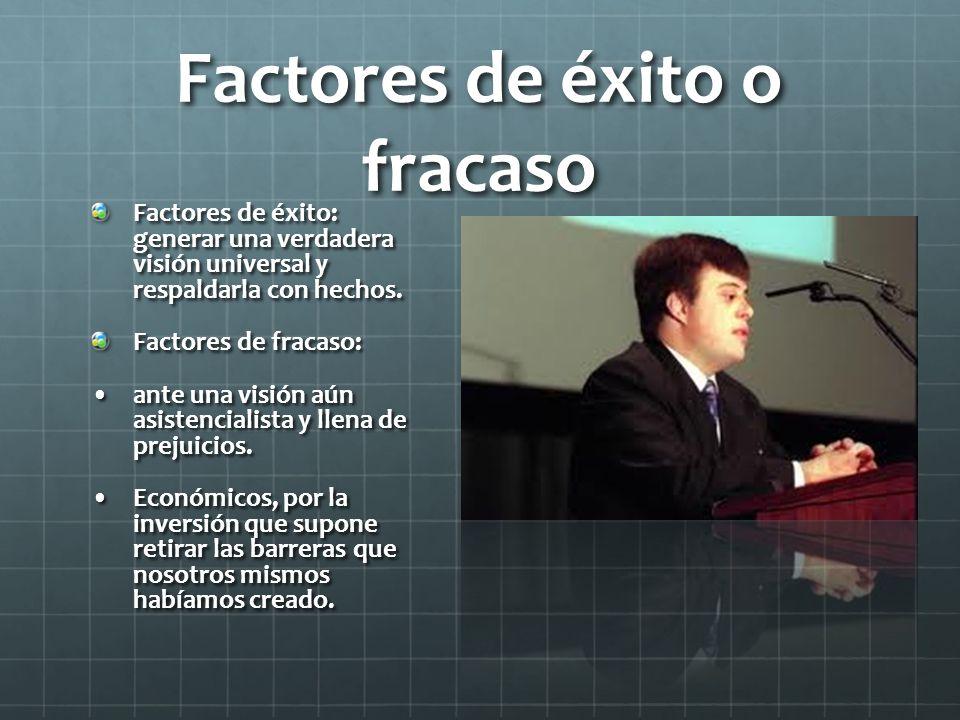 Factores de éxito o fracaso