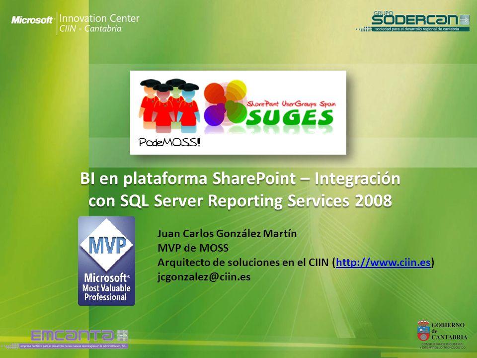 BI en plataforma SharePoint – Integración con SQL Server Reporting Services 2008