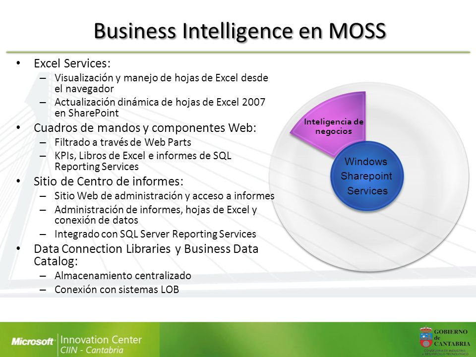 Business Intelligence en MOSS