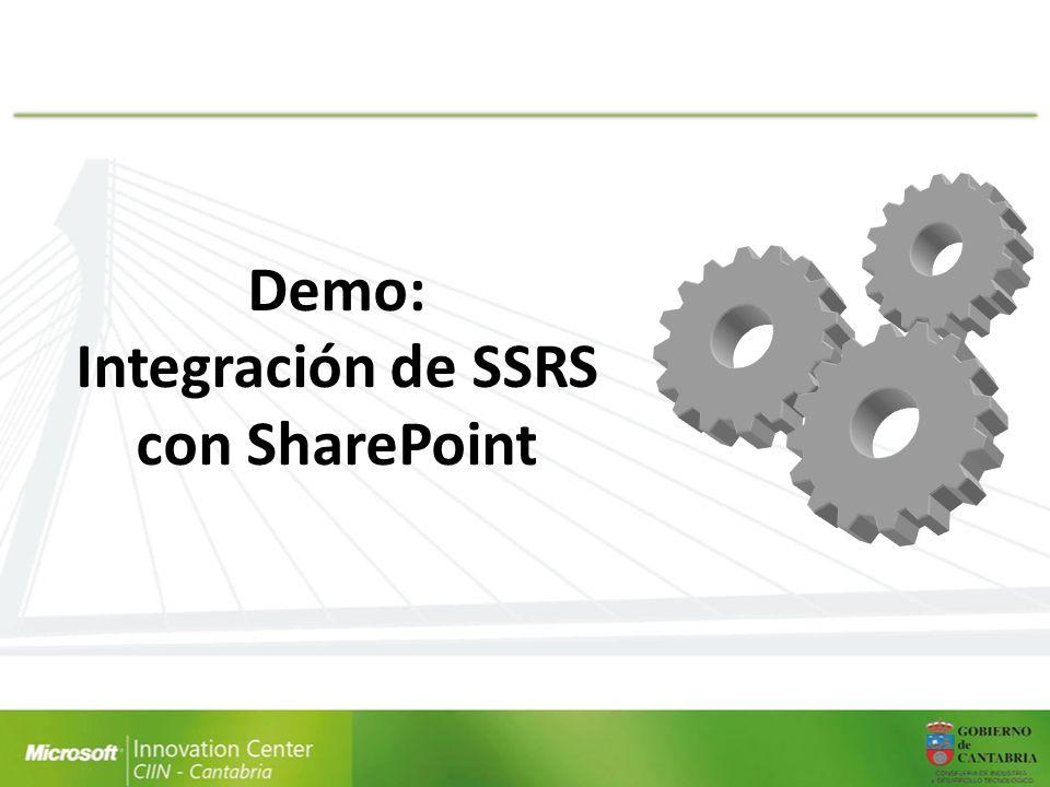Integración de SSRS con SharePoint