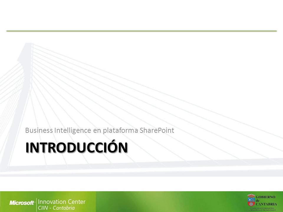 Business Intelligence en plataforma SharePoint