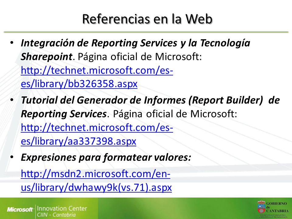 Referencias en la Web