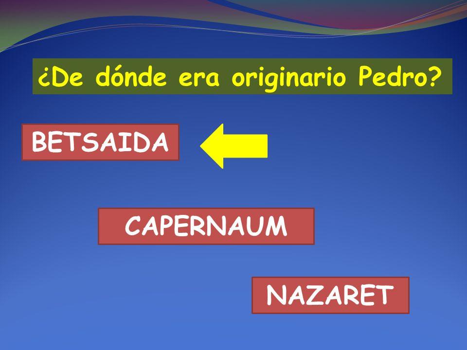 BETSAIDA CAPERNAUM NAZARET