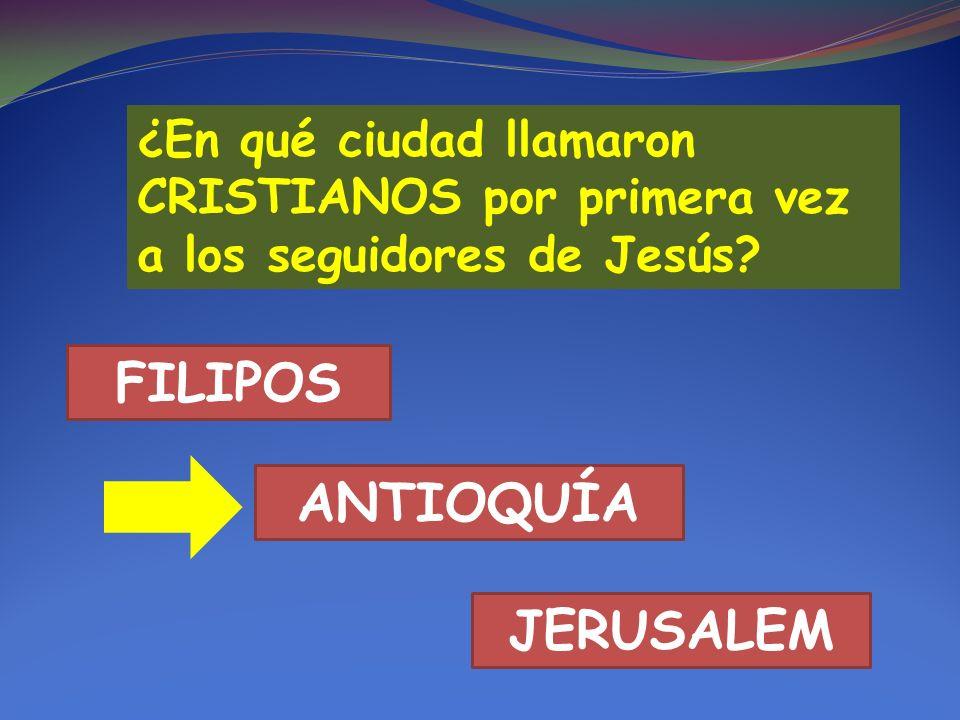 FILIPOS ANTIOQUÍA JERUSALEM