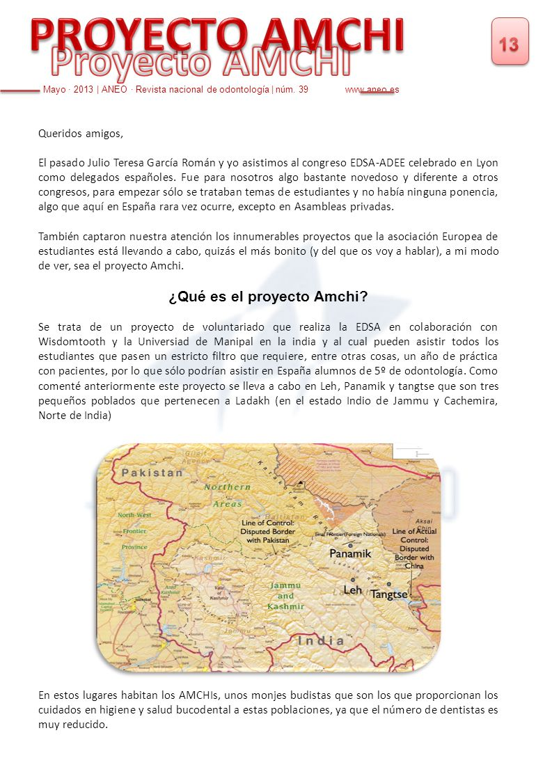 ¿Qué es el proyecto Amchi