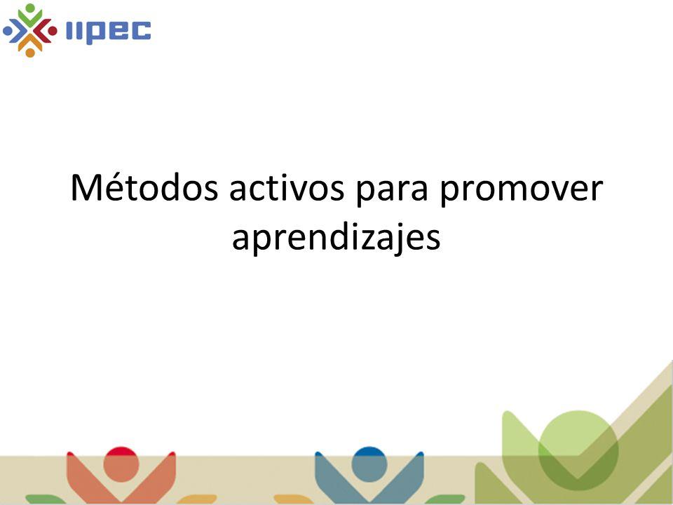 Métodos activos para promover aprendizajes