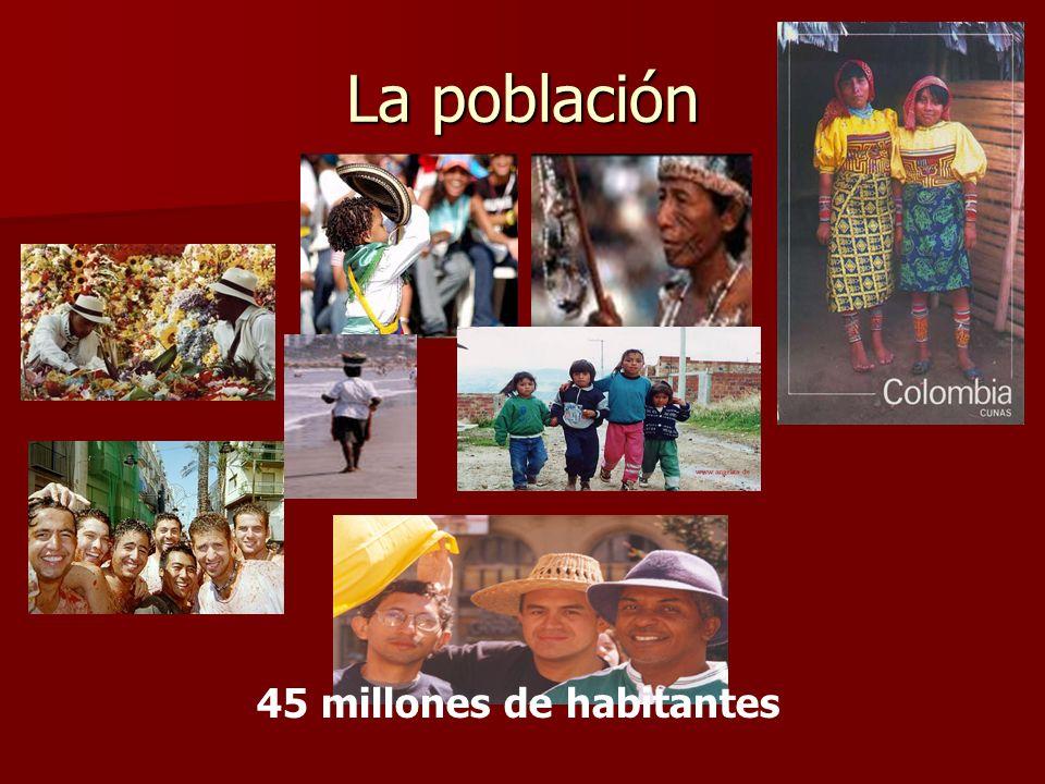 45 millones de habitantes