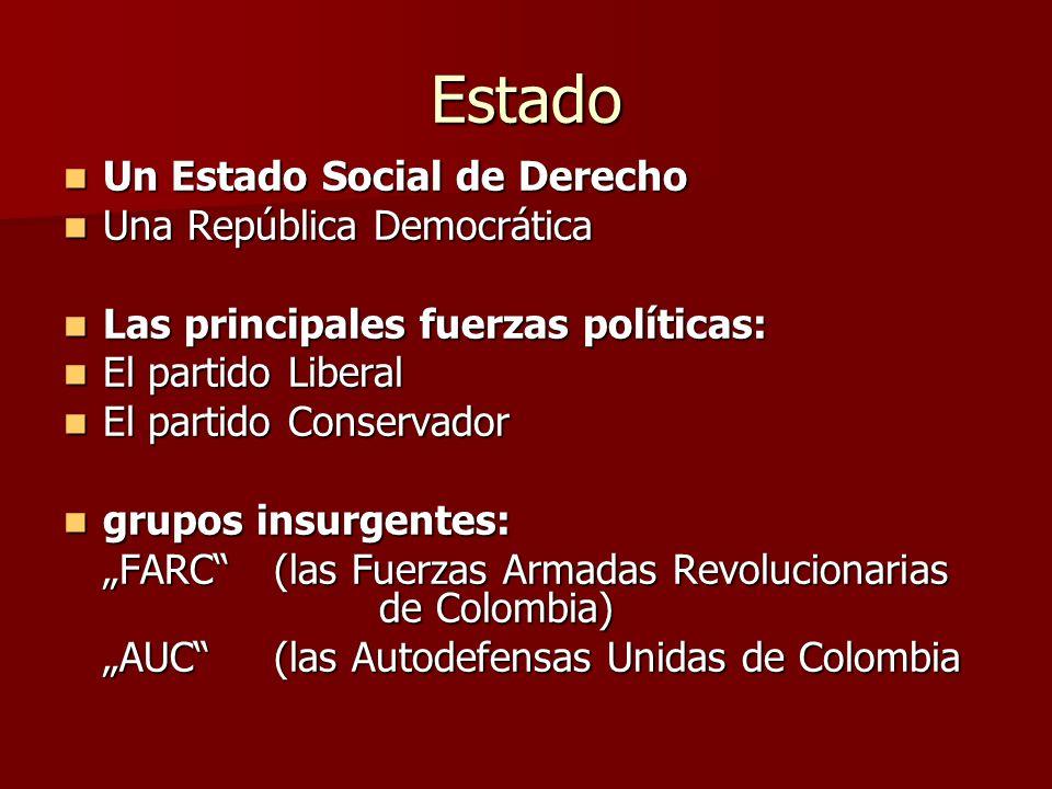 Estado Un Estado Social de Derecho Una República Democrática