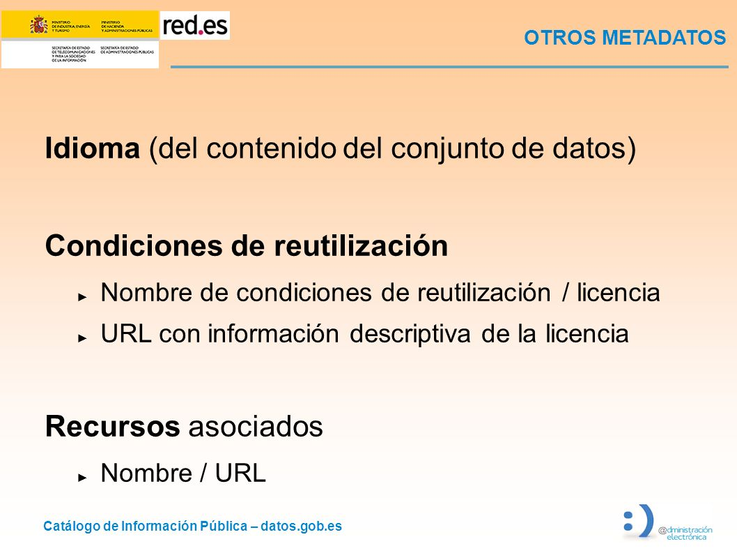 Idioma (del contenido del conjunto de datos)