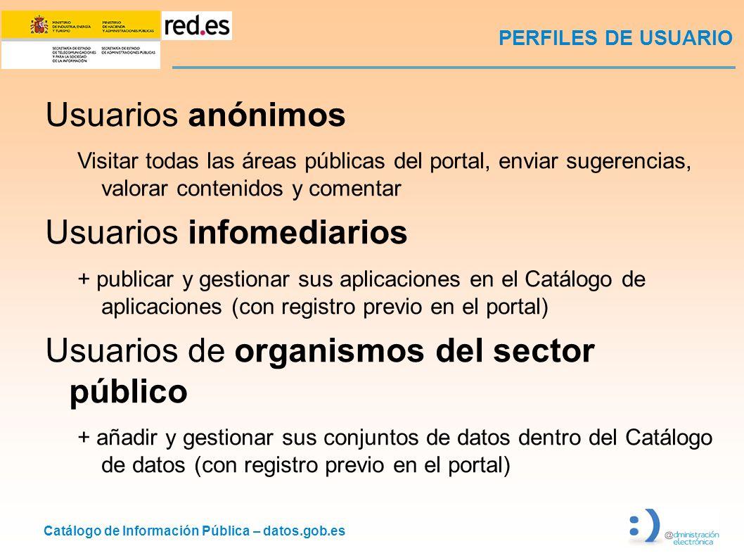 Usuarios infomediarios