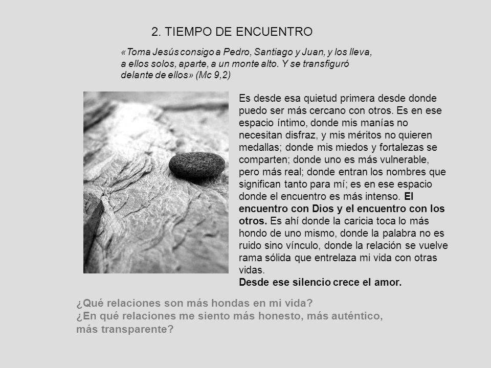2. TIEMPO DE ENCUENTRO
