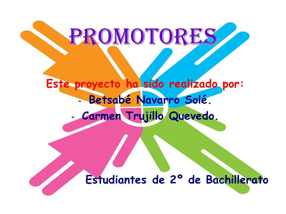 Este proyecto ha sido realizado por: Carmen Trujillo Quevedo.