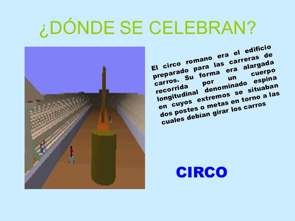 ¿DÓNDE SE CELEBRAN CIRCO