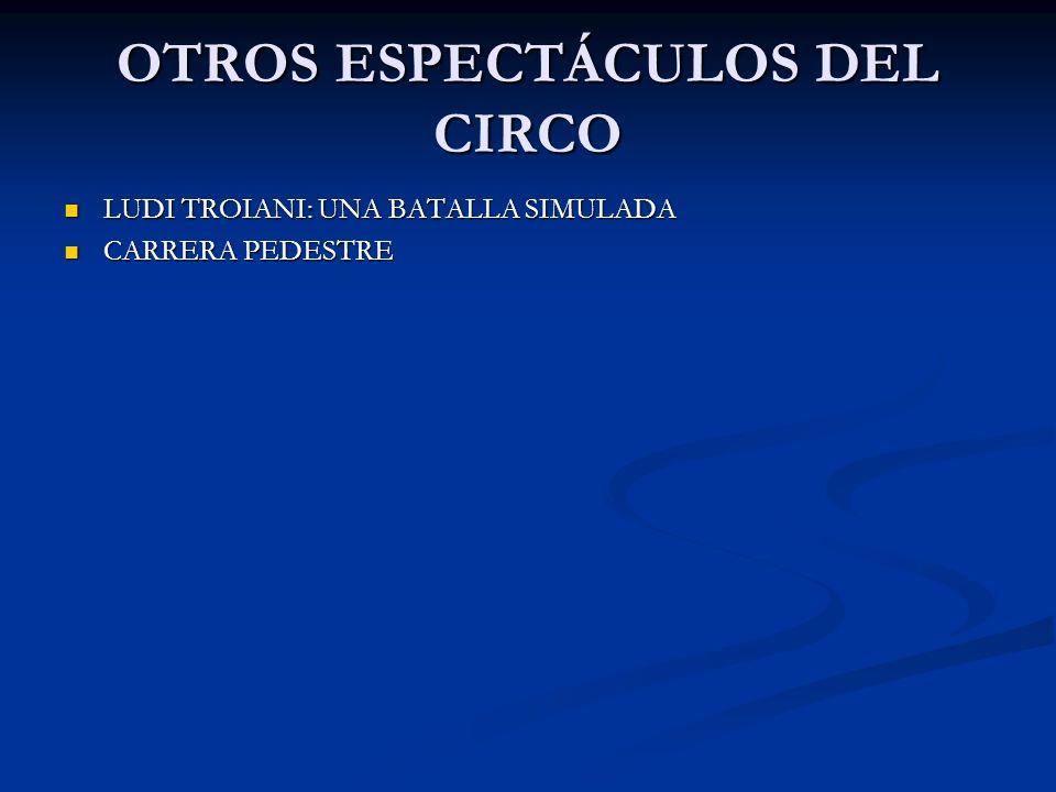 OTROS ESPECTÁCULOS DEL CIRCO