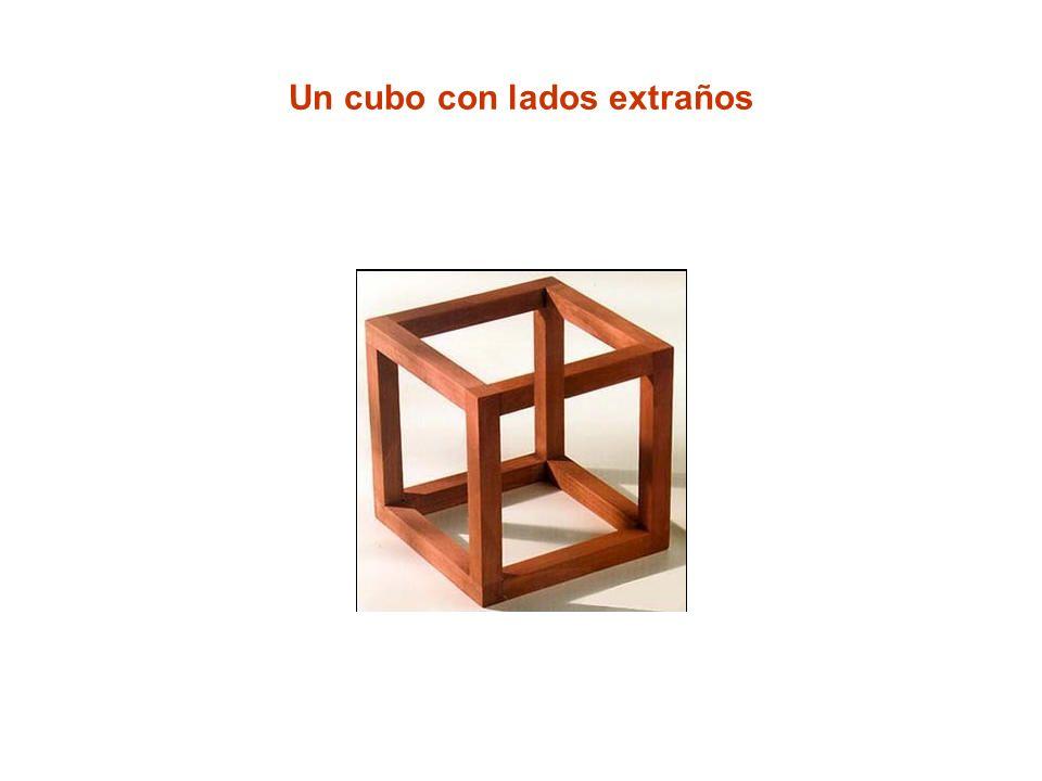 Un cubo con lados extraños
