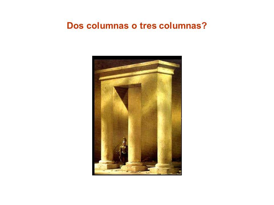 Dos columnas o tres columnas