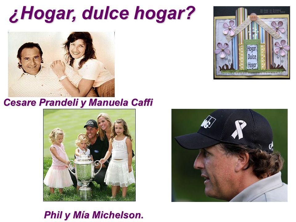 ¿Hogar, dulce hogar Cesare Prandeli y Manuela Caffi
