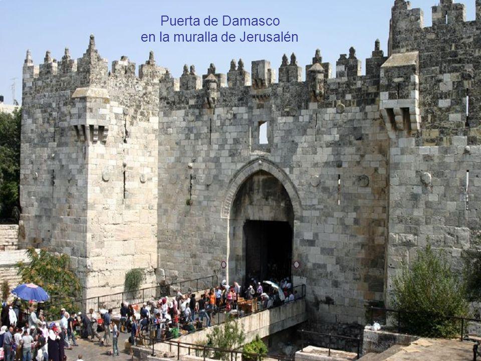 en la muralla de Jerusalén