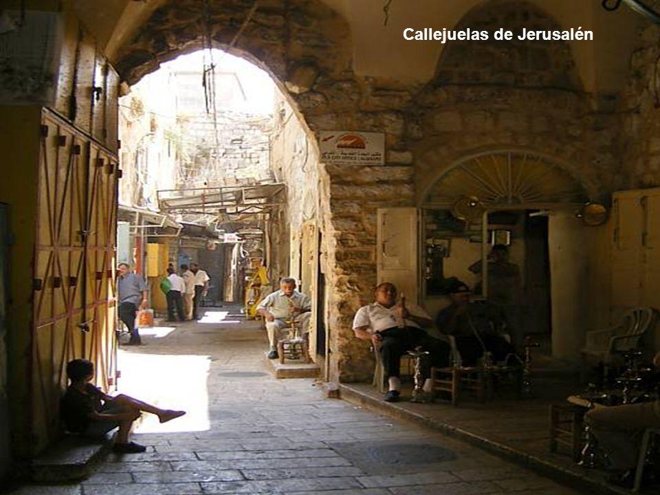 Callejuelas de Jerusalén