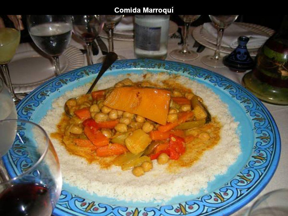 Comida Marroquí
