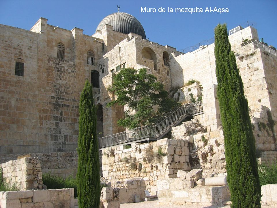 Muro de la mezquita Al-Aqsa