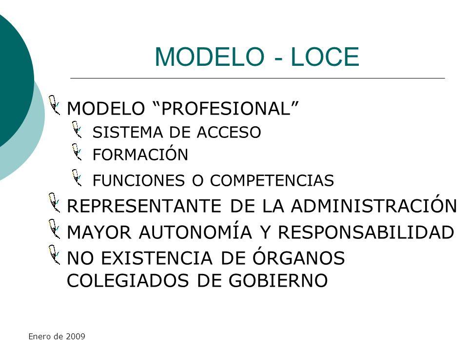 MODELO - LOCE MODELO PROFESIONAL REPRESENTANTE DE LA ADMINISTRACIÓN