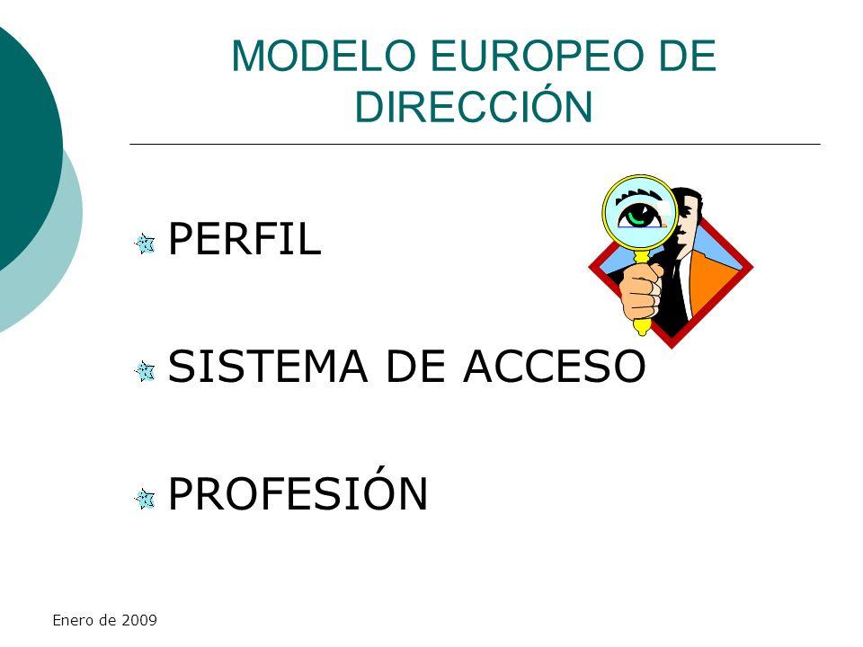 MODELO EUROPEO DE DIRECCIÓN