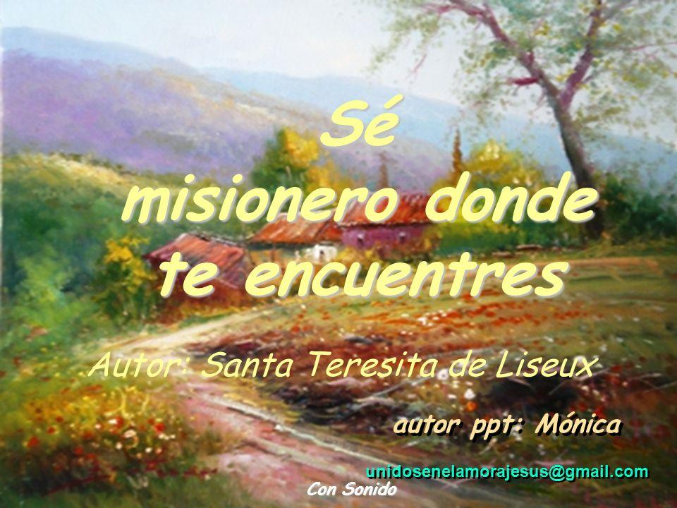 Autor: Santa Teresita de Liseux