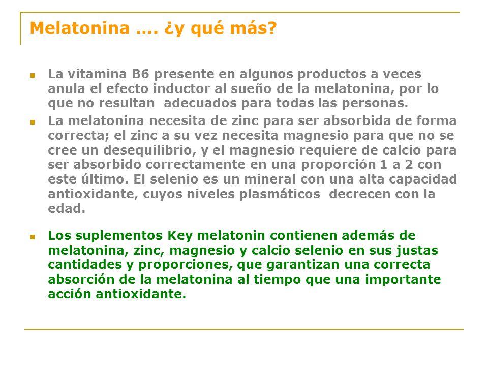 Melatonina …. ¿y qué más
