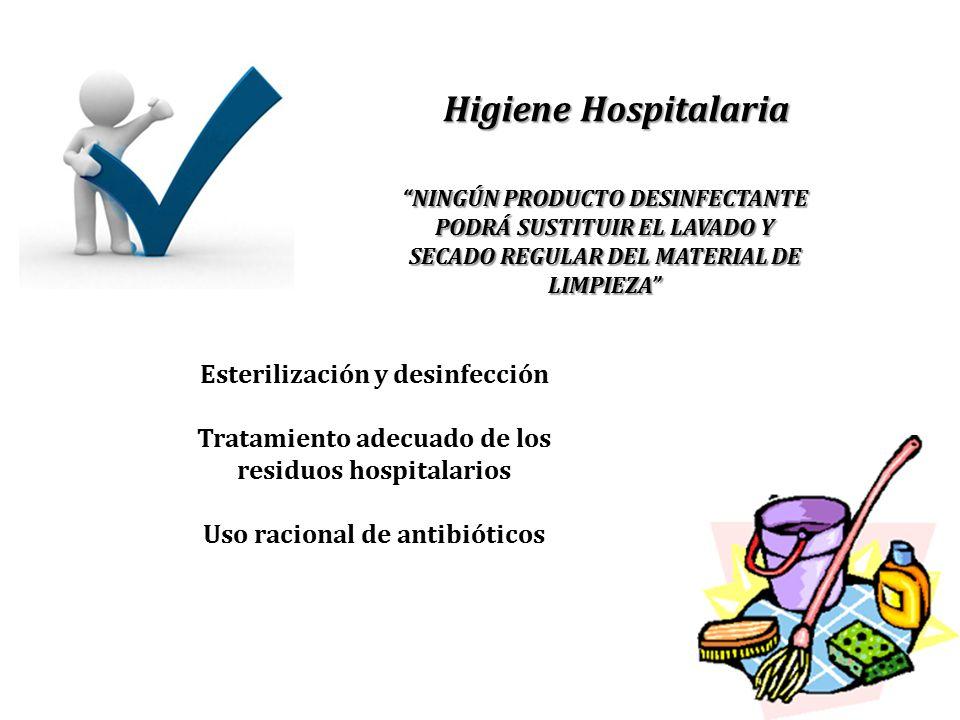 Higiene Hospitalaria Esterilización y desinfección