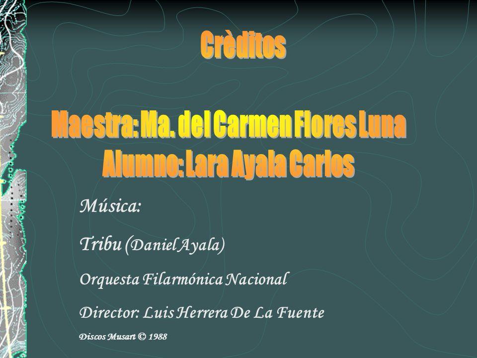 Maestra: Ma. del Carmen Flores Luna Alumno: Lara Ayala Carlos