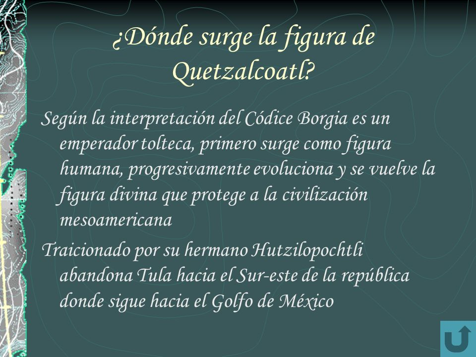 ¿Dónde surge la figura de Quetzalcoatl