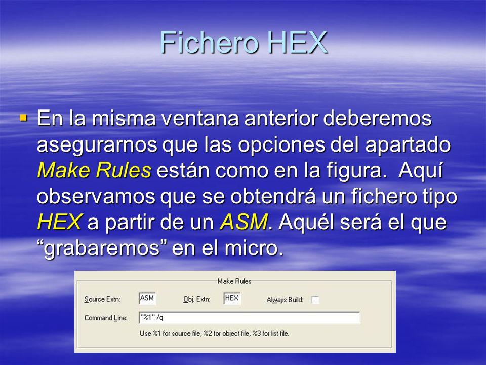 Fichero HEX